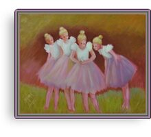 The Buterfly Dance Canvas Print