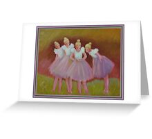 The Buterfly Dance Greeting Card