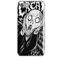 Metal Scream iPhone Case/Skin