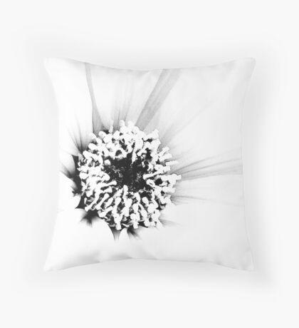 White.... Throw Pillow
