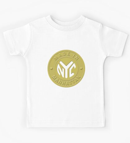 Made In New York Manhattan Kids Tee