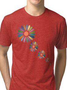 Sunny Flower T Shirt Tri-blend T-Shirt