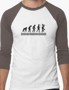 Evolution of Ska Men's Baseball ¾ T-Shirt