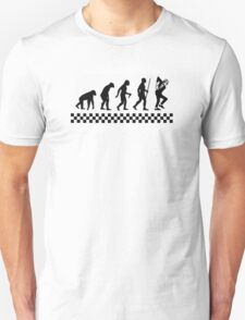 Evolution of Ska Unisex T-Shirt