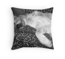 Are we comfy enough!!! Throw Pillow