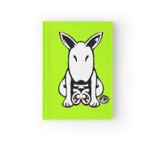 English Bull Terrier Tee  Hardcover Journal