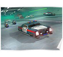 Fringe Police Cruiser Poster