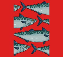 Tasty mackerel pattern Kids Clothes