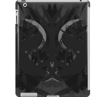Rorschach Dark iPad Case/Skin