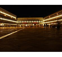 Piazza St Marco Photographic Print