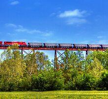 Greene County Indiana Viaduct by David Owens
