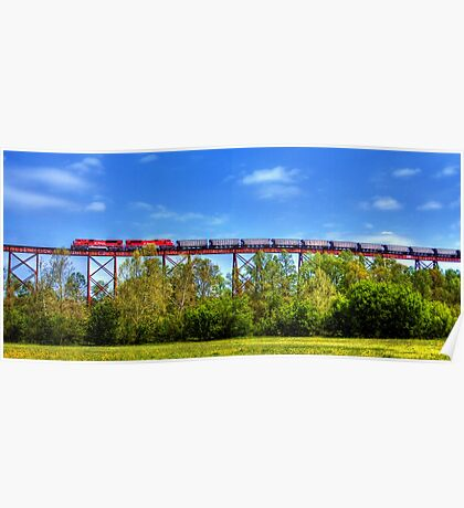 Greene County Indiana Viaduct Poster