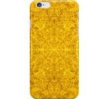 Symmetrical Liquid Gold iPhone Case/Skin