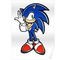Sonic Adventure Poster