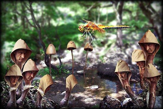 Mushrooms on Toast by ToastedGhost