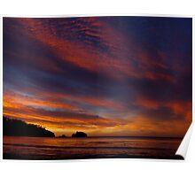 Tasmanian Sunrise Poster