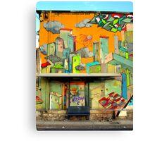 Bus Stop #1 Canvas Print