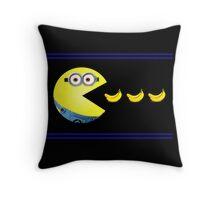Pac-Minion Throw Pillow