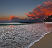 South End, Mollymook Beach, South Coast, NSW by Steve Fox