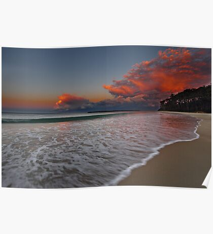 South End, Mollymook Beach, South Coast, NSW Poster