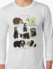 Bears of the World Long Sleeve T-Shirt