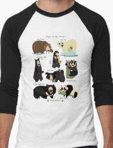 Bears of the World Men's Baseball ¾ T-Shirt