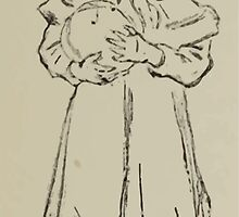 Kate Greenaway Collection 1905 0129 Girl in Bonnett by wetdryvac