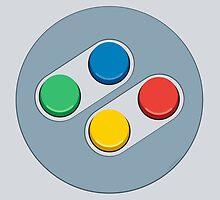 SNES Controller Buttons by dudsbessa