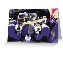 V12 Lagonda Greeting Card