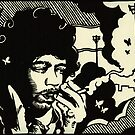 Jimi by Damian King