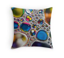 Oil & Water 4 Throw Pillow