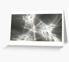 Wormhole Turbulence Greeting Card