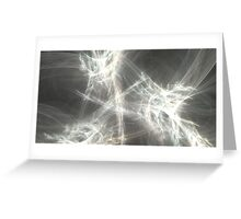Wormhole Turbulence Greeting Card