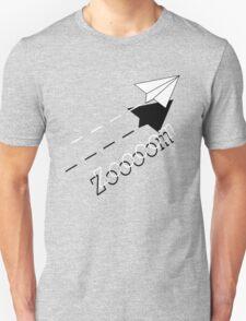 Paper Airplane--Zoooom. T-Shirt
