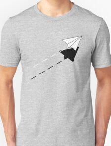 Paper Airplane. T-Shirt