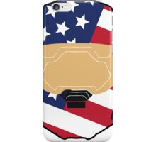Spartan USA iPhone Case/Skin
