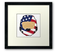 Spartan USA Framed Print