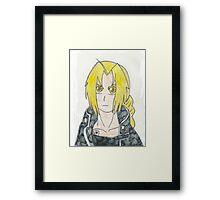 Edward Elric Framed Print