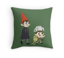 Into The Unknown. Throw Pillow