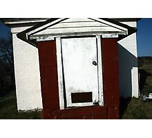 White Door Barn, Boston Photographic Print