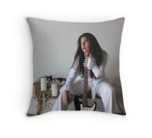 Me and my back up singer Throw Pillow