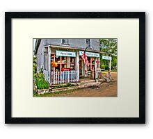 Cooksville Store Framed Print
