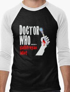 Gallifreyan Idiot. Men's Baseball ¾ T-Shirt