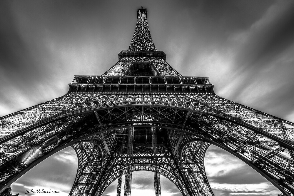Eiffel Tower 9 by John Velocci