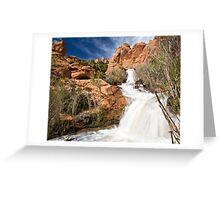 Faux Falls Greeting Card