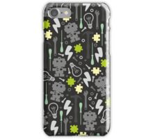 Young Engineer - fluo green iPhone Case/Skin