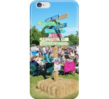 Tentertainment music festival, England iPhone Case/Skin