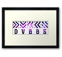 DVBBS - Logo Galaxy Framed Print