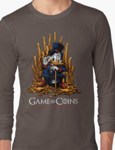 Game of Coins Long Sleeve T-Shirt