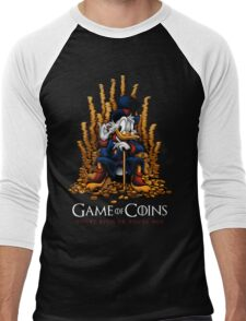 Game of Coins Men's Baseball ¾ T-Shirt